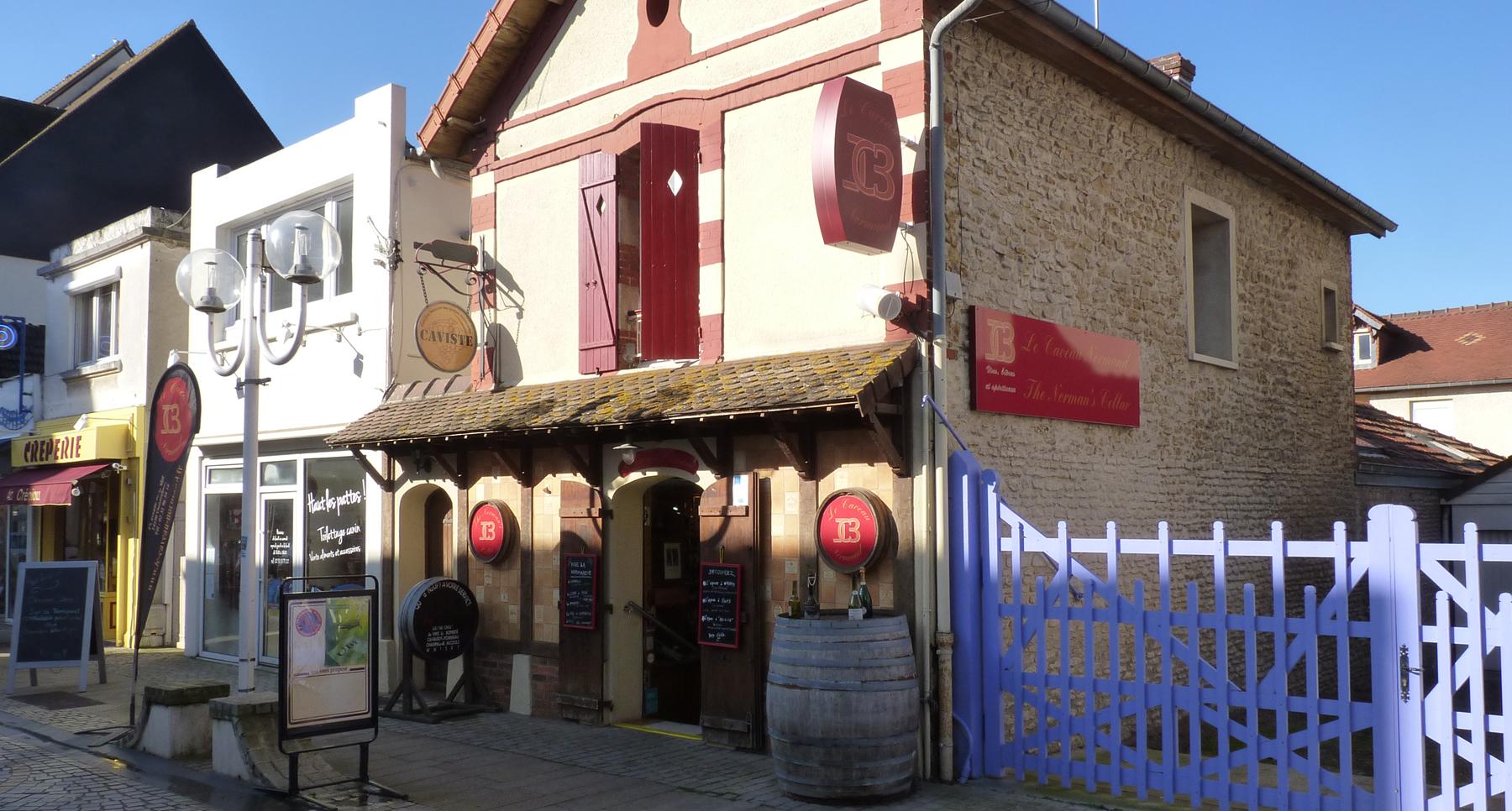 Cave à vins à Ouistreham (Caen la Mer dans le Calvados 14)