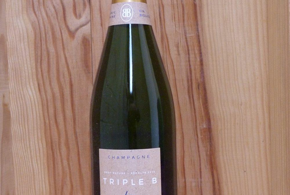 Besserat de Bellefon Triple B : Champagne Bio sans sulfite ajouté (brut nature)